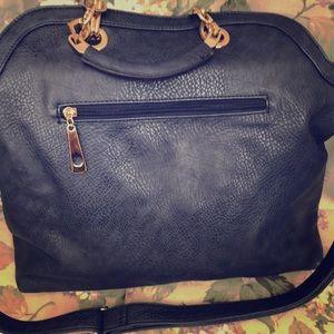 NWOT Navy Convertible Shoulder/Handbag